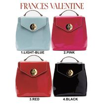 FRANCIS VALENTINE Casual Style Plain Backpacks