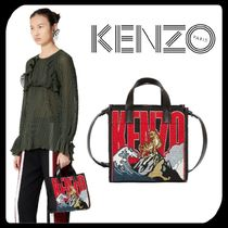 KENZO Casual Style Unisex Street Style 2WAY Other Animal Patterns
