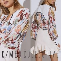 Cameo the Label Flower Patterns Casual Style Long Sleeves Medium