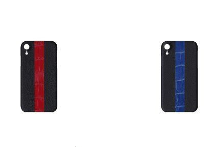 Leather iPhone XR Smart Phone Cases