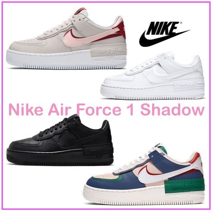 Nike AIR FORCE 1 2019 20AW Casual Style Street Style Plain Leather Low Top Sneakers