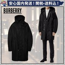 Burberry Monogram Long Oversized Parkas