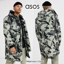 ASOS Camouflage Street Style Long Parkas
