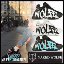 Naked Wolfe Platform Casual Style Street Style Plain Leather Handmade