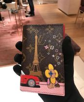 Louis Vuitton MONOGRAM Unisex Blended Fabrics Special Edition Passport Cases