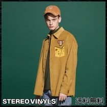 STEREO VINYLS COLLECTION Unisex Street Style Shirts & Blouses