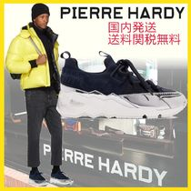 Pierre Hardy Blended Fabrics Plain Sneakers