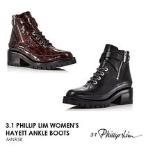 3.1 Phillip Lim Casual Style Street Style Leather Mid Heel Boots