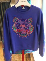 KENZO Street Style Long Sleeves Other Animal Patterns Cotton