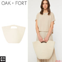 OAK + FORT Casual Style Plain Totes
