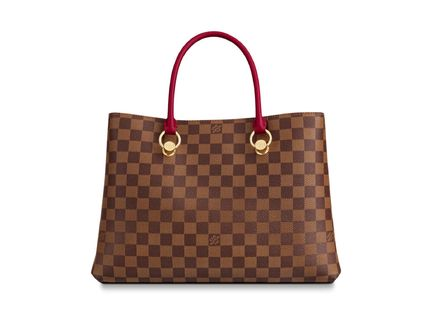 Louis Vuitton Handbags Casual Style Calfskin Blended Fabrics A4 2WAY Office Style 6