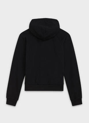CELINE Hoodies Unisex Street Style Long Sleeves Plain Cotton Hoodies 4
