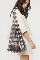 OAK + FORT Other Plaid Patterns Casual Style Crystal Clear Bags