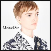 Christian Dior Costume Jewelry Casual Style Street Style Party Style