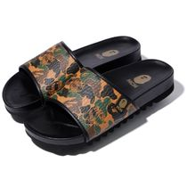 MCM Camouflage Casual Style Unisex Street Style Collaboration