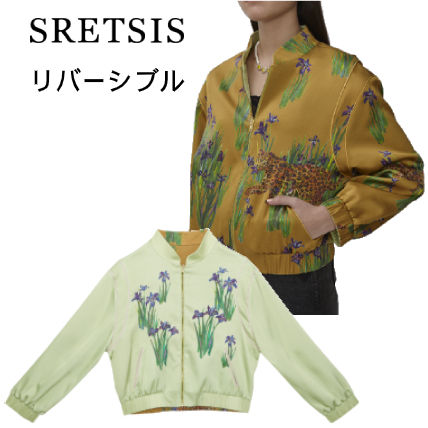 Flower Patterns Leopard Patterns Jackets