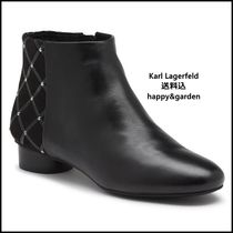 Karl Lagerfeld Leather Ankle & Booties Boots