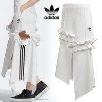 adidas Stripes Casual Style Street Style Collaboration Skirts