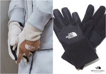THE NORTH FACE WHITE LABEL Unisex Street Style Plain Gloves Gloves