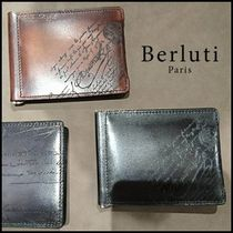 Berluti Leather Folding Wallet Folding Wallets