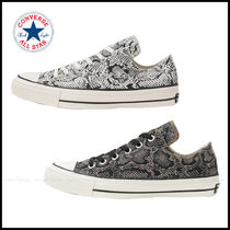CONVERSE ALL STAR Unisex Street Style Python Sneakers