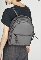 CALPAK Casual Style Faux Fur Plain Backpacks