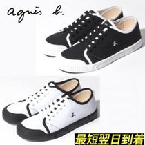 Agnes b Casual Style Unisex Low-Top Sneakers