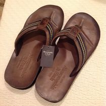 Abercrombie & Fitch Stripes Street Style Plain Leather Loafers & Slip-ons