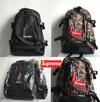 Supreme Camouflage Unisex Street Style Collaboration Backpacks