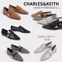 Charles&Keith Casual Style Faux Fur Plain Office Style Elegant Style