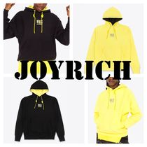 JOYRICH Pullovers Unisex Street Style Long Sleeves Plain Cotton