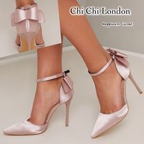 Chi Chi London Plain Pin Heels Party Style Shoes