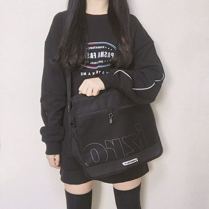 Casual Style Unisex Street Style Collaboration A4 Plain