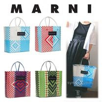 MARNI MARNI MARKET Other Check Patterns Heart A4 Handmade PVC Clothing
