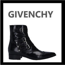 GIVENCHY Casual Style Leather Elegant Style Ankle & Booties Boots