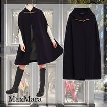 Weekend Max Mara Wool Plain Medium Ponchos & Capes