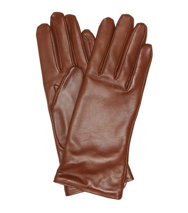 Cashmere Leather Leather & Faux Leather Gloves