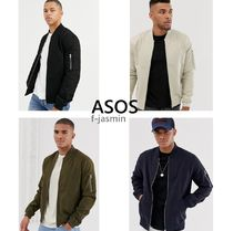 ASOS Short Plain MA-1 Bomber Jackets