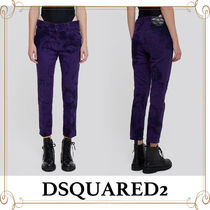 D SQUARED2 Casual Style Street Style Cotton Long Cropped & Capris Pants