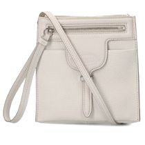 TOD'S Casual Style Leather Crossbody Shoulder Bags
