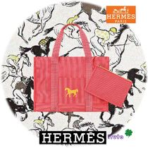 HERMES Oversized Mothers Bags