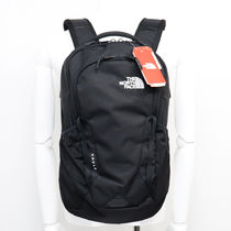 THE NORTH FACE Black Series Unisex Nylon Street Style A4 Plain Handmade Backpacks