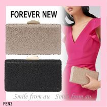 FOREVER NEW 2WAY Plain Party Style Clutches