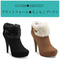 Guess Round Toe Casual Style Plain Elegant Style