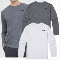THE NORTH FACE Unisex Street Style Oversized T-Shirts