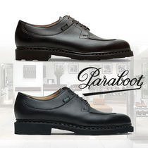 Paraboot Street Style Plain Leather Oxfords