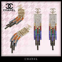 CHANEL Costume Jewelry Casual Style Blended Fabrics Elegant Style