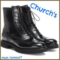 Church's Casual Style Leather Ankle & Booties Boots