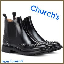 Church's Casual Style Plain Leather Boots Boots