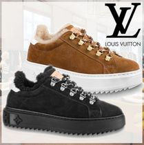 Louis Vuitton MONOGRAM Monogram Rubber Sole Casual Style Street Style Leather